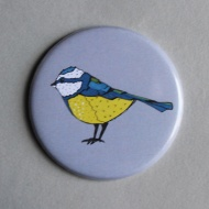 Blue Tit Pocket Mirror